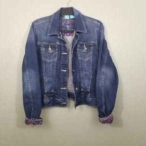 HangTen Denim Distressed Jacket